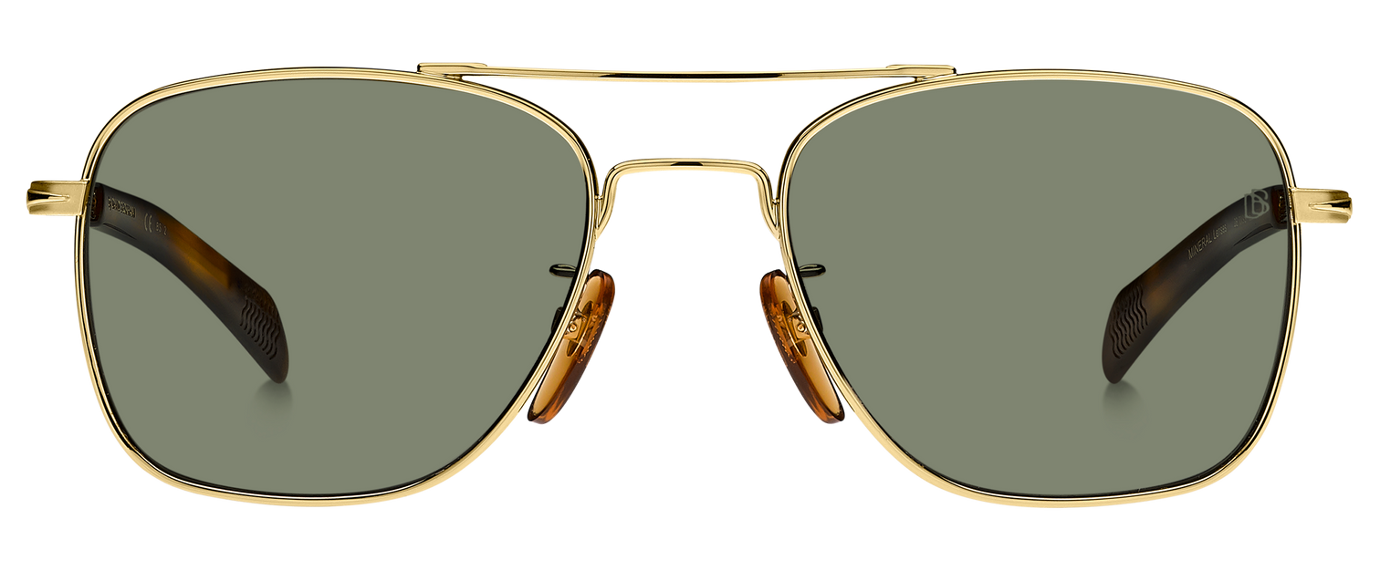 DB 7019/S - Gold Havana - Green Lightgreen Antireflex