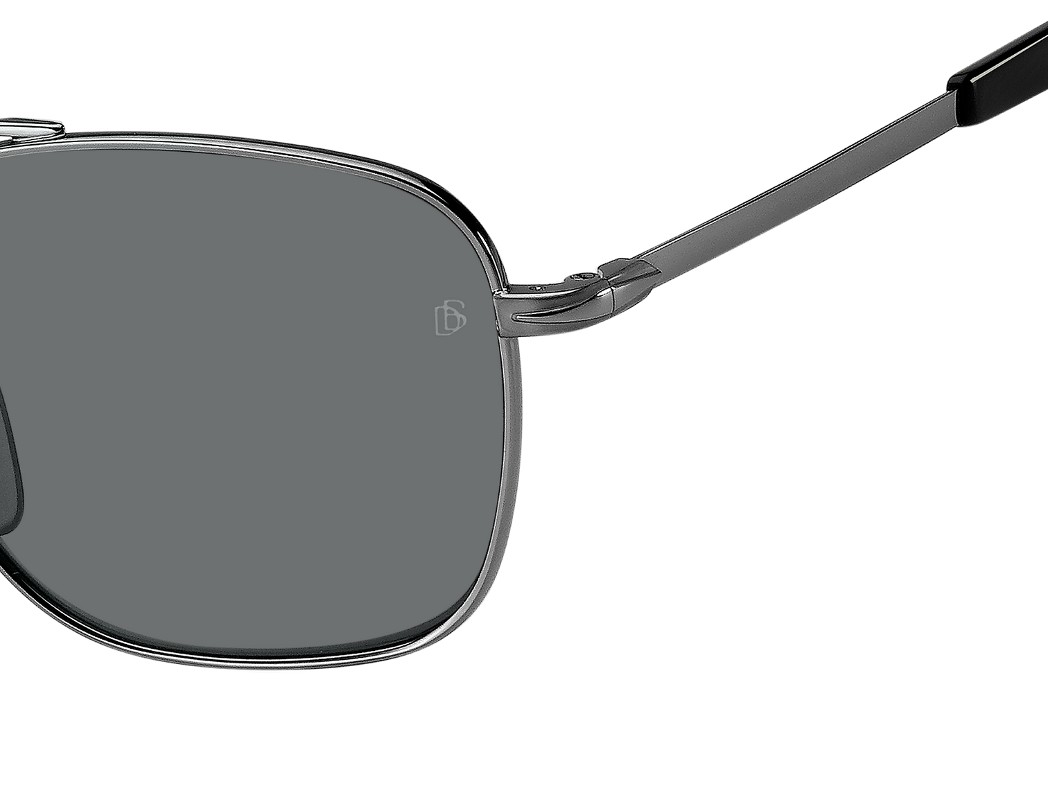 DB 7019/S - Ruthenium Black - Grey Polarized