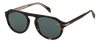 DB 7009/S - Dark Havana - Green