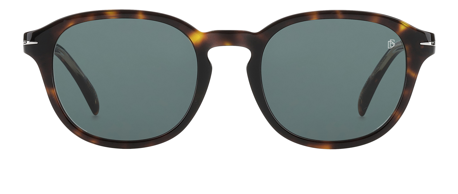 DB 1011/F/S - Dark Havana - Green