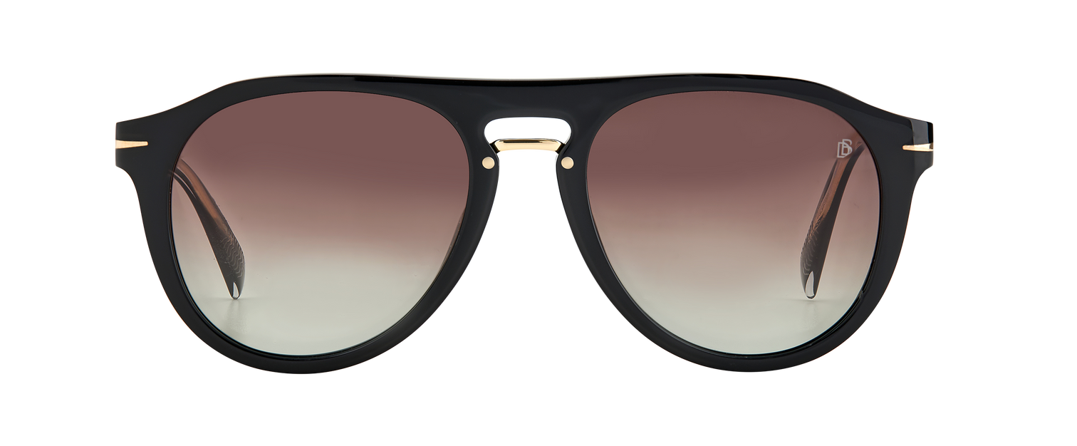 DB 7032/G/CS - Black Gold - Brown Shaded Polarized