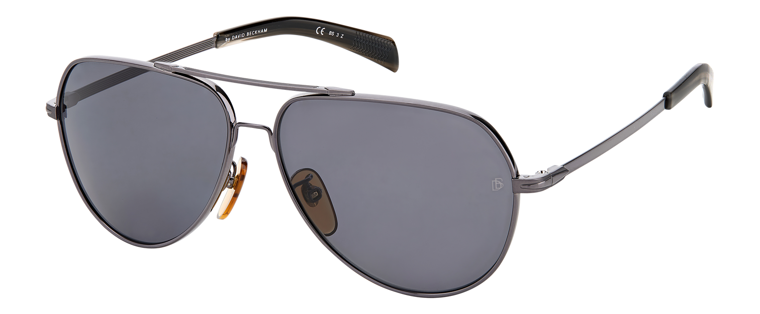 DB 7031/S - Dark Ruthenium - Grey Polarized