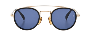 DB 7036/S - Black Gold - Blue Avio
