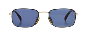 DB 1035/S - Black Gold - Blue Avio