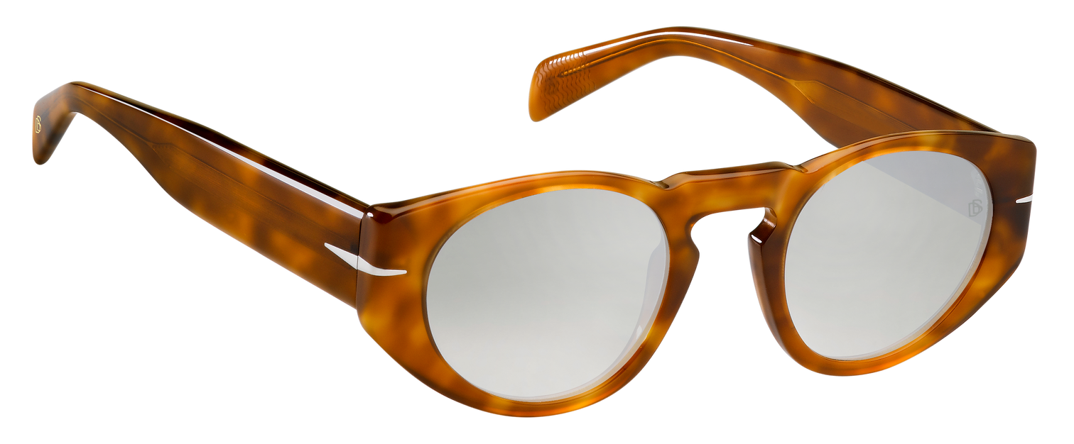 DB 7033/S - Havana Honey - Grey Mirrorshade Silver