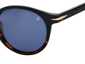 DB 1036/S - Black Horn - Blue Avio