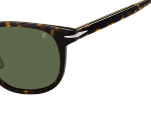 DB 7040/F/S - Dark Havana - Green