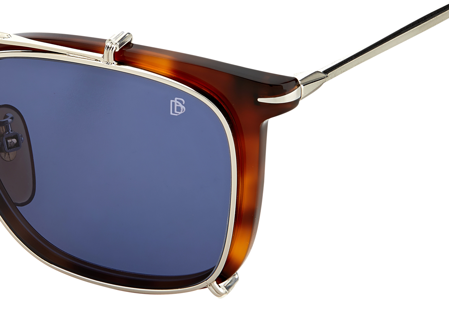 DB 1037/G/CS - Brown Havana - Blue Avio