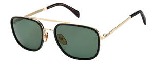 DB 7039/F/S - Black Havana Gold - Green Polarized