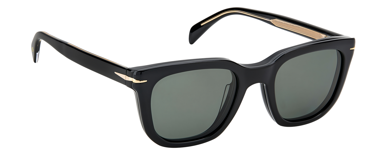 DB 7043/CS - Black - Green Polarized