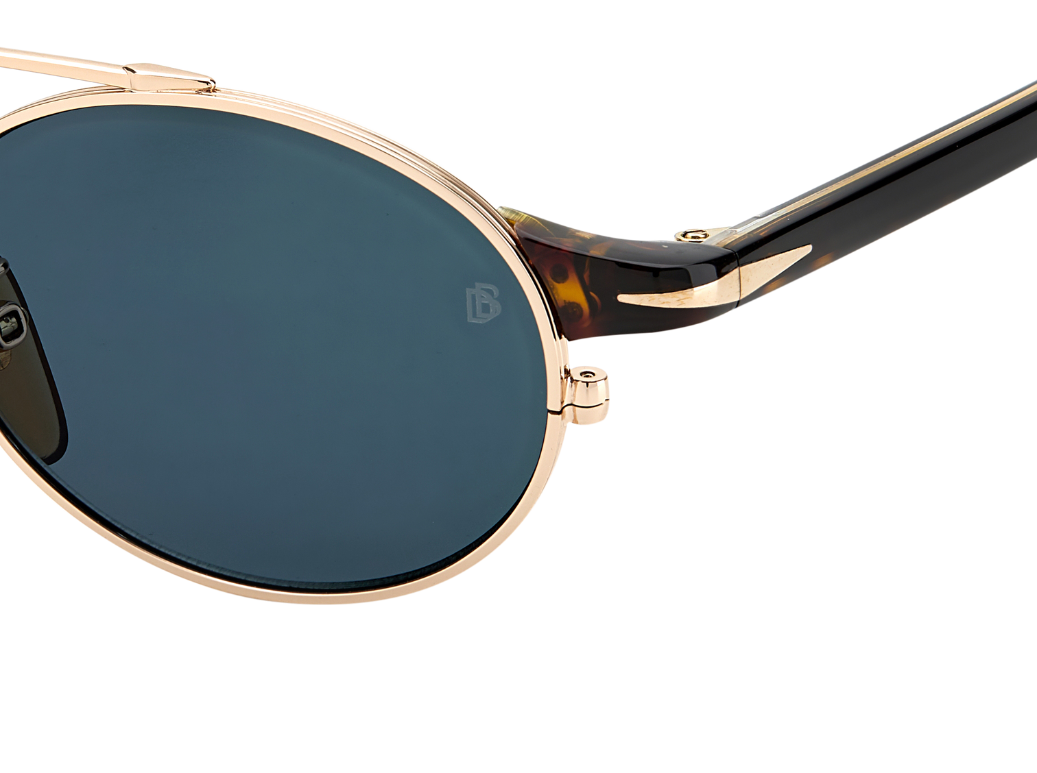 DB 1042/S - Gold Havana - Green Mirror
