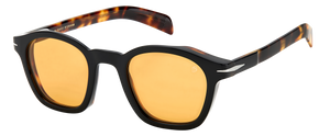 DB 7046/S - Black Havana - Orange