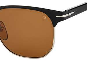 DB 7057/F/S - Matte Black Silver - Brown