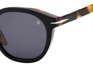 DB 7058/F/S - Black Havana - Grey