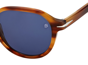 DB 1044/S - Brown Horn - Blue Avio