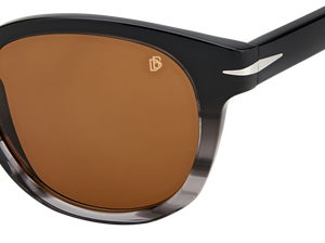DB 1046/S - Black Grey Horn - Brown