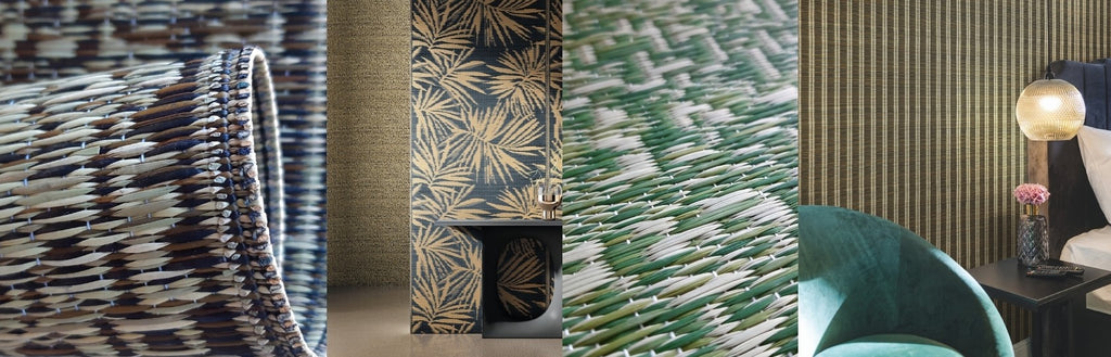 Jannelli & Volpi Igusa wallcoverings collection