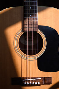 Acoustic Guitars (Steel and 12 String)