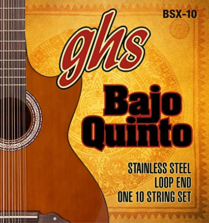 GHS Stainless Steel Bajo Quinto String Set