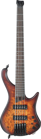 IBANEZ EHB Ergonomic Headless 5 String Bass Dragon Eye Burst Flat