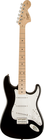 Squier Affinity Series Stratocaste Maple Fingerboard Black