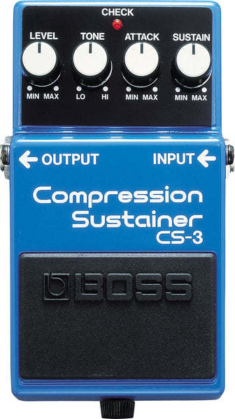 Boss CS3 Compression Sustrainer Pedal