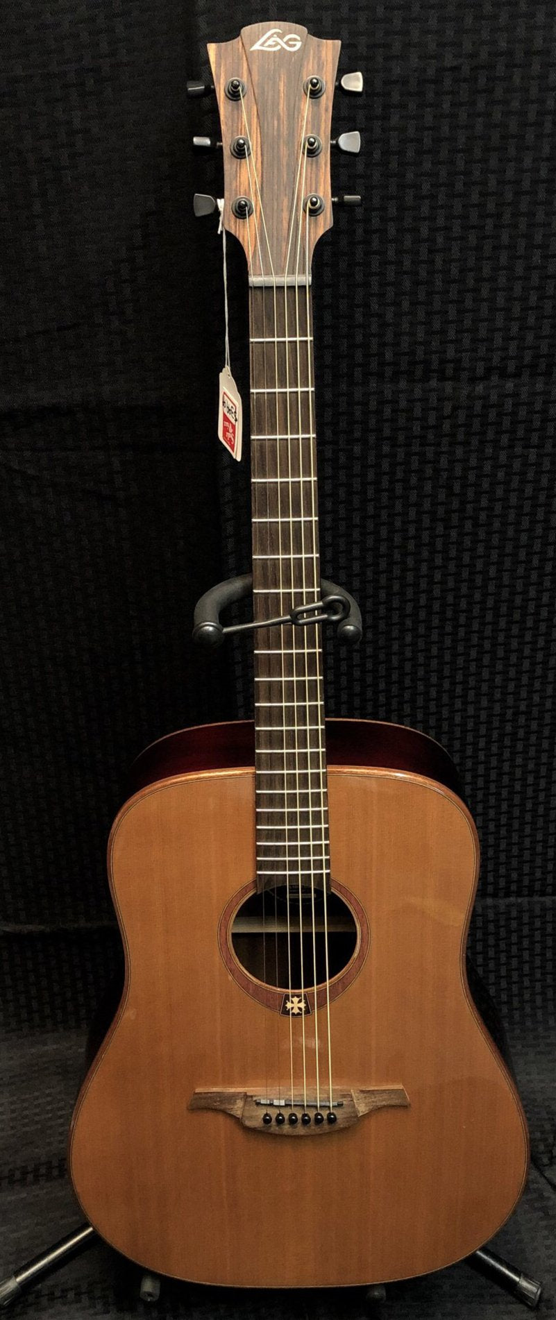 Lag Left Handed Dreadnought Guitar TL100D