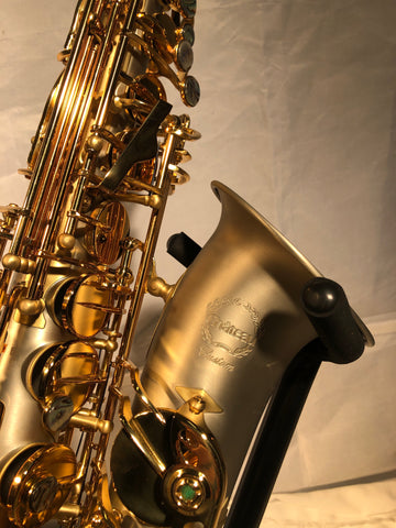 Chateau Alto Saxophone 760 Nickel Silver Finish