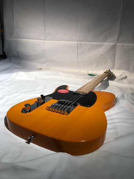 Squier Affinity Series Left Handed Telecaster Maple Fingerboard Butterscotch Blonde