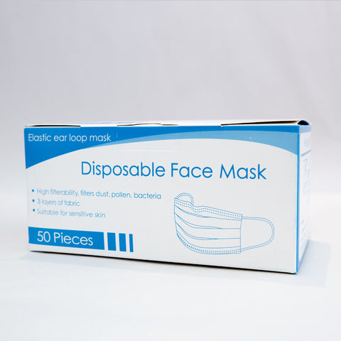Surgical 3 ply Disposable Mask