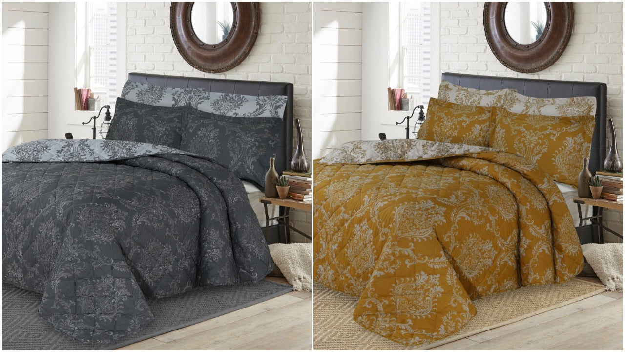 Duvet Cover with Pillow Case Full Bedding Set Single Double King Super king Size UK