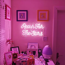'Reach for the stars' Neon Sign - Marvellous Neon