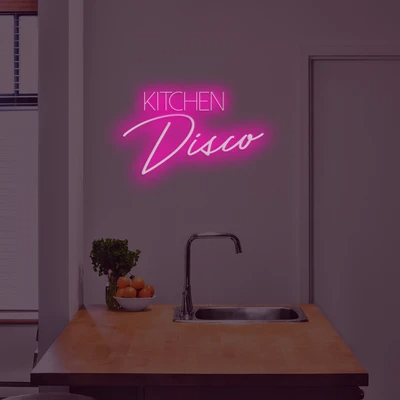 Kitchen Disco Neon Sign - Marvellous Neon