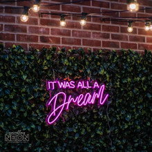 It Was All A Dream Notorious Led Sign - Marvellous Neon