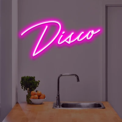 Disco Neon Sign - Marvellous Neon