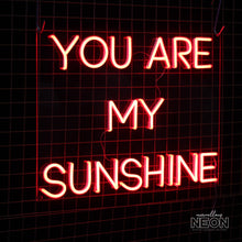 'You are my sunshine' LED Neon Sign