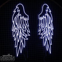 Angel Wings Led Sign - Marvellous Neon