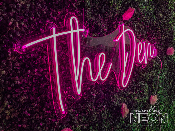 The Den LED Neon Sign - Marvellous Neon