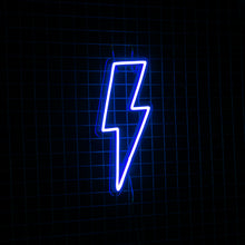 LIGHTNING BOLT BLUE | NEXT DAY DELIVERY AVAILABLE - Marvellous Neon