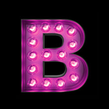 Light Up Letter - B - Marvellous Neon