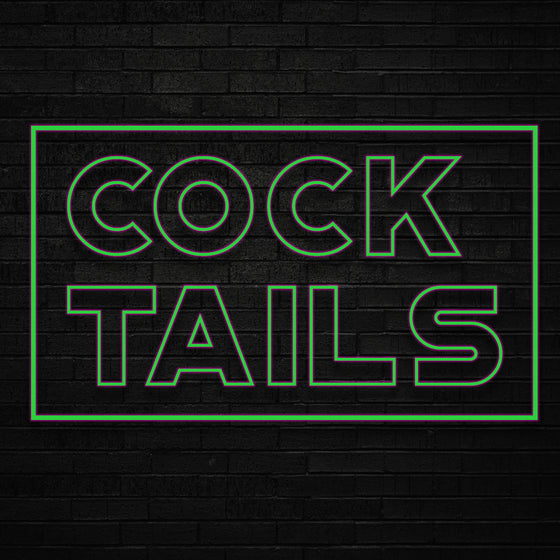 Cocktails Led Sign - Marvellous Neon