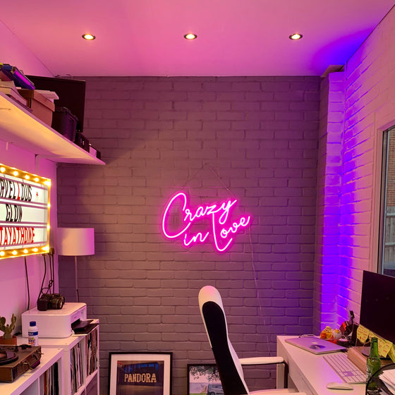 Crazy In Love Led Sign - Marvellous Neon