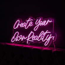 Create Your Own Reality Led Sign - Marvellous Neon