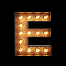 Light Up Letter - E - Marvellous Neon