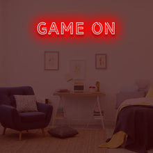 GAME ON 'GAMER' Neon Sign