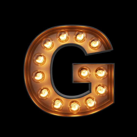 Light Up Letter - G - Marvellous Neon
