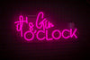 It's Gin O'Clock Led Sign - Marvellous Neon