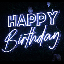 Happy Birthday Neon Led Sign - Marvellous Neon