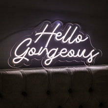 Hello Gorgeous Led Sign - Marvellous Neon