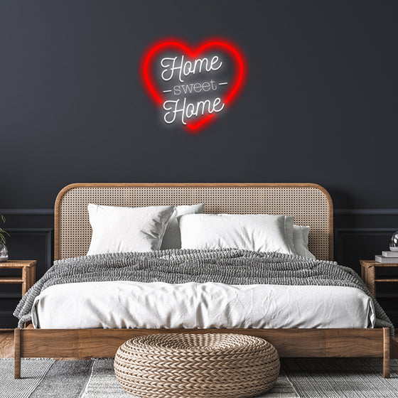 Home Sweet Home Led Neon Sign - Marvellous Neon